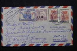 HONDURAS - Enveloppe En Exprès Pour La France En 1966, Affranchissement Plaisant - L 59814 - Honduras