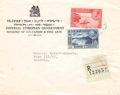 ETHIOPIA - RECO 1961 -> WIEN //ak266 - Etiopia
