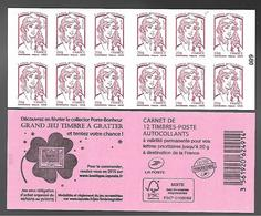 France 2014 - Yv N° 851 - C13 - Grand Jeu Timbre à Gratter ** - Booklets