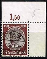 DR 1934,Michel# 540 - 543 O Kolonialgedenkfeier  542 Y - Deutschland