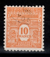 YV 629 Oblitere Arc De Triomphe Cote 27 Euros - Used Stamps