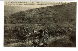 CPA - Carte Postale - Est Africain Allemand- Une Colonne En Marche Dans Le Ruanda  VM16303 - Rwanda