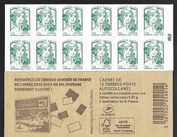 France 2014 - Yv N° 858 - C8 - Livre Des Timbres .... ** - Usados Corriente