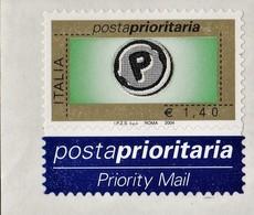 ITALIA REPUBBLICA 2004 PRIORITARIO € 1,40 MNH STAMPA TIPOGRAFICA  SASSONE N. 2733 - 2001-10:  Nuevos