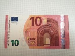 10 Euro W001F2/WA In UNC - EURO