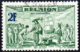Réunion Obl. N° PA 19 - Tricentenaire Du Rattachement - Réunion (1852-1975)