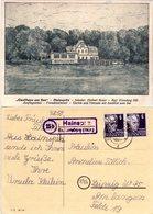 Landpost Stpl. 15b HAINSPITZ üb. Eisenberg  Auf Sw-AK Gasthaus Am See - Germany