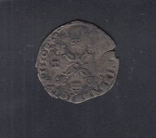 Frankreich France Douzain Aux Croissants 1550 D - 987-1789 Könige