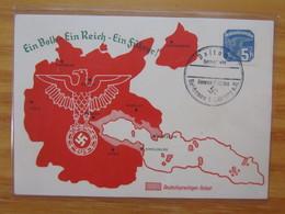 Ein Volk Ein Reich Ein Führer Postamt Reichenau B. Gablonz Sudetenland Ist Frei (123) - Weltkrieg 1939-45