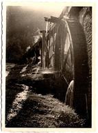 Photo Originale Joli Système D'Irrigation Et Roue De Moulin à Eau En Fonction Vers 1930/40 Gouttes D'eau & Débordements - Luoghi