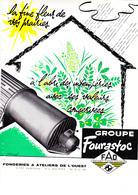 La Fine Fleur De Vos Prairies. Fonderies Et Ateliers De L'ouest. VITRE. Ille Et Vilaine - Werbung