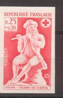 Croix Rouge Ivoire YT 1540 De 1967 Essai De Couleur Sans Trace De Charnière - France