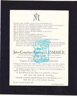 DB Orgelist Basiliek Dadizele - Jules Lommée ° Alveringem 1864 † Brugge 1932 Nassel Vanstechelman Faveers Traen Oorlinck - Avvisi Di Necrologio