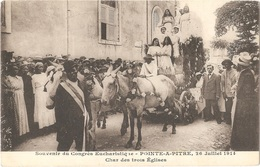 Guadeloupe - POINTE-À-PITRE - Souvenir Du Congrès Eucharistique, 26 Juillet 1914 - Char Des Trois Églises - Pointe A Pitre