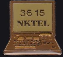 64646- Pin's.NKTEL, Spécialiste De La Téléphonie D'entreprise Au Meilleur Coût,Telecom.minitel. - France Telecom