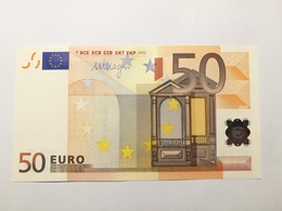 50 Euro J097B4/S In UNC - EURO