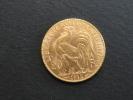 1912 - 20 Francs COQ - Tranche Liberté Egalité Fraternité - Or - L. 20 Francs