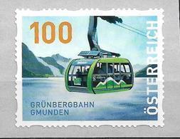 2020 Austria Österreich Mi.30 **MNH  Grünbergbahn Gmunden    Dispenserrollenmarken - 2011-... Ungebraucht