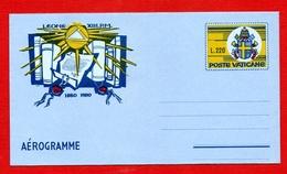 Vaticano 1980 - Aerogramma Archivio Segreto Vaticano - Entiers Postaux