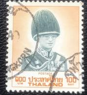 Thailand -(o)used - Ref 12 - 1988 - King Rama IX - 100 Baht - Tailandia