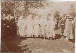 Photo 1930 Environs 29  Plouneour-trez  Jeunes Filles De Plouneour - Fotos