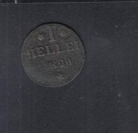 Frankfurt 1 Heller 1820 - [ 1] …-1871: Altdeutschland