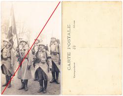 Photo Garde Au Drapeau 3ème RG Génie - Guerre, Militaire