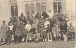 Hopital Militaire N° 30 De Trouville Août 1915 - Carte Photo (présence De Trous D'épingles) - Trouville