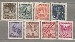 AUSTRIA OSTERREICH 1946 MNH (**) Mi 776-783 #21609 - 1945-.... 2nd Republic