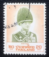 Thailand -(o)used - Ref 12 - 1989 - King Rama IX - 20 Baht - Tailandia