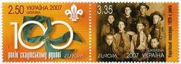 UKRAINA 2007 MI.856-57** - Ukraine