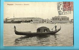 ITALIE----VENISE--VENEZIA---panorama E Gondola--voir 2 Scans - Venezia (Venice)