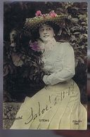 Artiste 1900- Otero  - Photo Gerschel - Rare Cliché - Dance