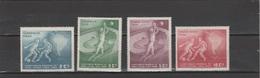 Chile 1962 Michel 605-608 Football Soccer World Cup Set Of 4 MNH - Fußball-Weltmeisterschaft