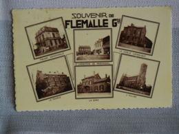SOUVENIR DE FLEMALLE CARTE MULTI VUES - Flémalle