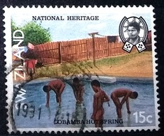 Swaziland 1991 Provinces Paysages Roi Ethnographique - Swaziland (1968-...)