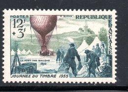 1955 - YT 1018 NEUF ** SANS CHARNIERE COTE 6 € - Frankreich