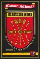 CPSM 83 LES ARCS SUR ARGENS BLASON ADHESIF - Les Arcs