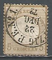 Germany Reich 1872 Year, Used Stamp , Mi # 06 - Germania