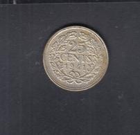Niederlande 25 Cent 1941 - [ 3] 1815-…: Königreich Der Niederlande