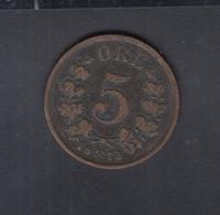 Norwegen 5 Öre 1875 - Norwegen