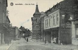 Auvelais Rue Du Pont Circulée En 1920 - Sambreville