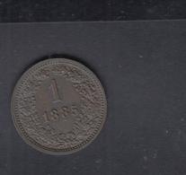 Österreich 1 Kreuzer 1885 - Oesterreich