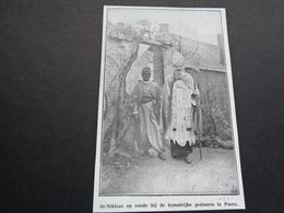 """Origineel Knipsel ( 3907 ) Uit Tijdschrift """" Ons Volk """"  1930  :  Sint - Niklaas  Puers  Puurs - Vieux Papiers"""