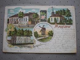 MAHLOW - GASTHOF KANITZ - MUHLE - LITHO 1904 - Blankenfelde