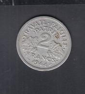 Frankreich France 2 Francs 1944 C - Frankreich