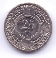 NETHERLAND ANTILLAS 2010: 25 Cent, KM 35 - Antille Olandesi