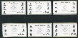 NORWAY 2000-01 Posthorn, Philatelic Bureau Issue.  MNH / **.  Michel 4 So 5-10 - Vignettes D'affranchissement (ATM/Frama)