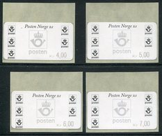 NORWAY 1999 Posthorn, Philatelic Bureau Issue.  MNH / **.  Michel 4 So 1-4 - Vignettes D'affranchissement (ATM/Frama)