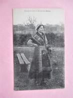 Costume Et Coiffe De NERIS LES BAINS_Jeune Femme_tbe - Neris Les Bains